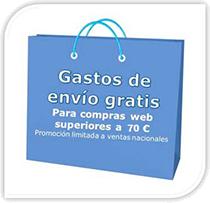 Envío gratis para compras superiores a 70€